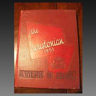 1951 University of Houston Yearbook - The Houstonian