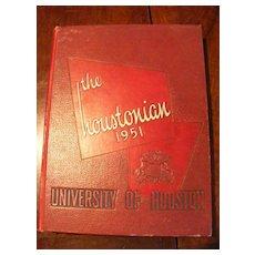 1951 University of Houston Yearbook - The Houstonian
