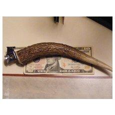 Vintage Antler Handle Cigar Cutter