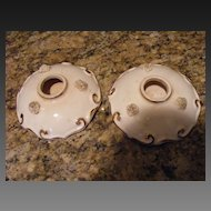 Napco 1957 Ceramic Candle Holders