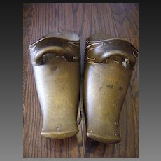 18th Century Spanish Conquistador Brass Stirrups