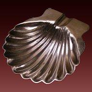 Pretty Sterling Sea Shell Ring Dish
