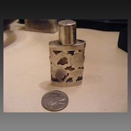 .925 Sterling Taxco Scent Perfume Bottle