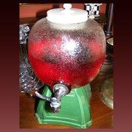 Vintage Perfection Cooler Beverage or Syrup Dispenser