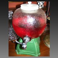 Vintage Perfection Cooler Beverage or Syrup Dispenser