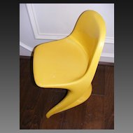 Vintage 1977 Casalino 0 Child's Chair - Yellow