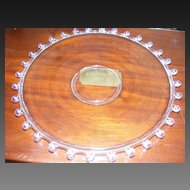 Heisey LARIAT Large Torte Plate 14""