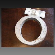 "Large Antique Bronze Advertising Sign Letter ""O"""