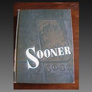 1948 OU Oklahoma University Sooner Yearbook