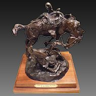 "Fred Fellows Bronze 24/100 ""End of a Love Affair"" 1987"