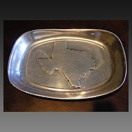 Wilton Armetale Texas Collection Pewter Tip Tray or Bread Plate
