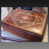 Vintage Italian Leather Box