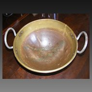 Very Large Brass Mixing Bowl