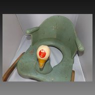 Antique Baby Potty Seat with Ducky