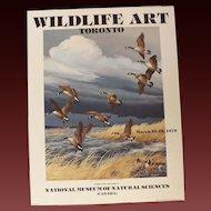 1978 Maynard Reece Geese Lithograph from Toronto Art Show
