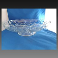 Pattern Glass Serving Bowl / Centerpiece