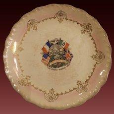 D.E. McNicol WWI Commemorative Plate