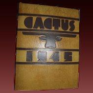 1945 University of Texas UT Yearbook