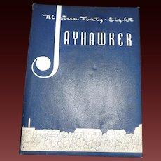 1948 KU Jayhawker Kansas University Yearbook