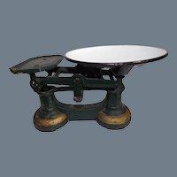 Antique Cast Iron Balance Scale