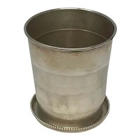Smith Patterson & Co Sterling Silver Folding Cup