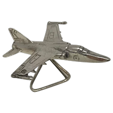 925 Silver Italy Miniature Airplane