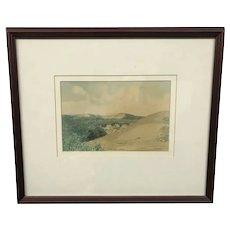 Canadian Ernest Luthi Punnichy Saskatchewan Painting