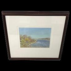 Canadian Ernest Luthi Shoreline Painting
