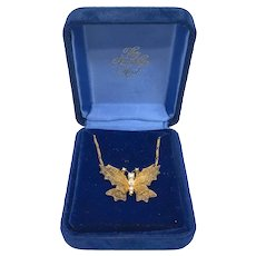 Franklin Mint's House of Igor Faberge 18k Necklace