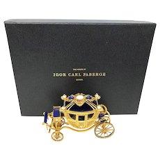 Igor Carl Faberge Imperial Wedding Coach