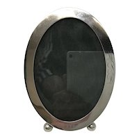 Sterling Silver Gorham Oval Picture Frame