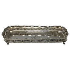 Sterling Silver Gorham Oval Footed Candy Bowl