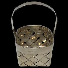 Sterling Silver Handmade Basket