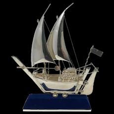 Sterling Silver Handmade Sailboat