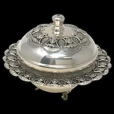 Masorett Sterling 925 Silver Honey Dish