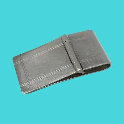 Sterling Silver BAB Money Clip