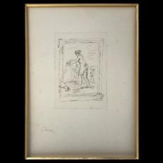 Pierre Auguste Renoir 1841-1919 Lithograph