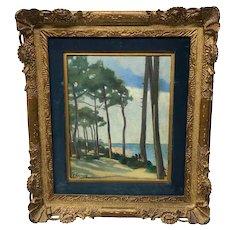 John Lavery 1856-1941 La Cote D'Espagne 1911 Painting