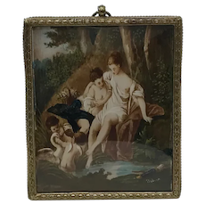 19th Century French Miniature Painting