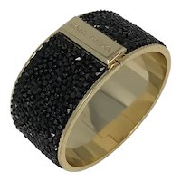 Henri Bendel NY Gold Tone Crystal Bracelet