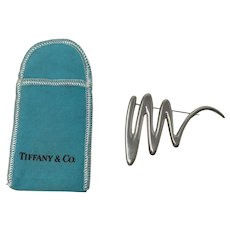 Paloma Picasso Tiffany & CO Sterling Pin Brooch