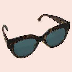 Fendi FF0360 Dark Havana Sunglasses