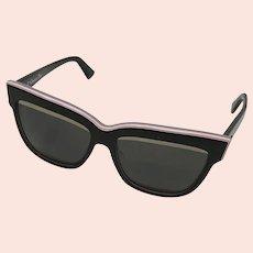 Christian Dior Graphic Pink Sunglasses