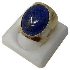 David Sigal 925 Silver & Lapis Lazuli Ring