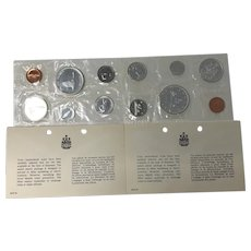 1966 & 1967 Canada Silver Prooflike sets Uncirculated