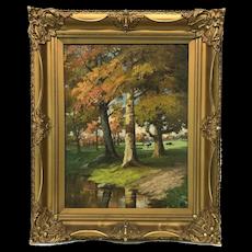 American Charles Warren Dennis Painting