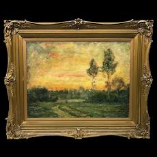 Leon Germain Pelouse 1838-1891 Landscape Painting
