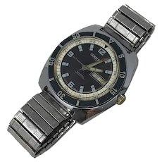 Vintage Cordura Seagull Diver Wristwatch