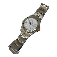 Swiss Military Delemont Stainless Steel Watch