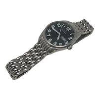 Bulova Stainless Steel Water Resistant Watch